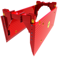 Animation of a High Clearance Trench Box