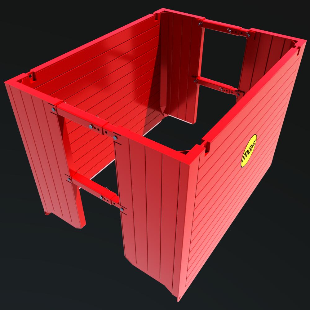 Manhole Box render