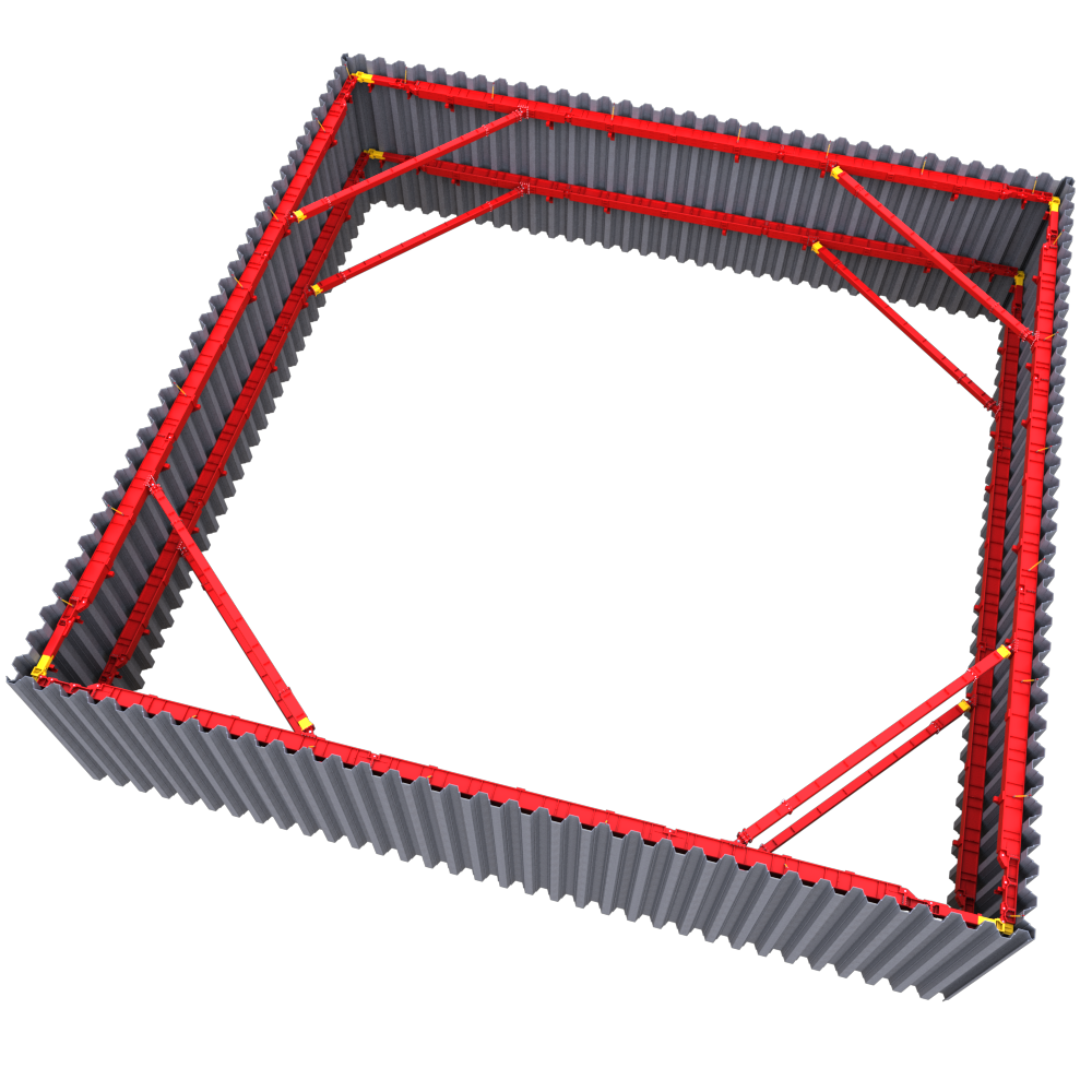 Full 3D image of T700 Hydraulic Brace