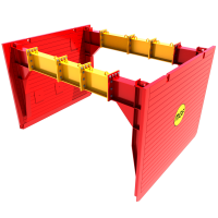 Main image render of a Utility Trench Box
