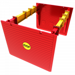 Render of a MGF Utility Trench Box