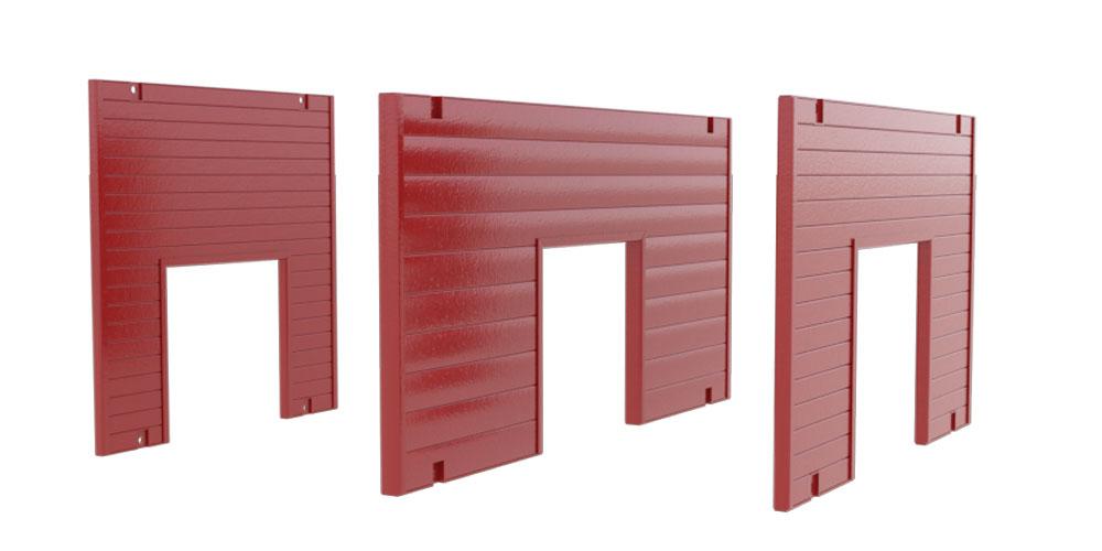 Animation of Utility Endsafe Panel sizes