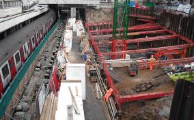 London Underground excavation