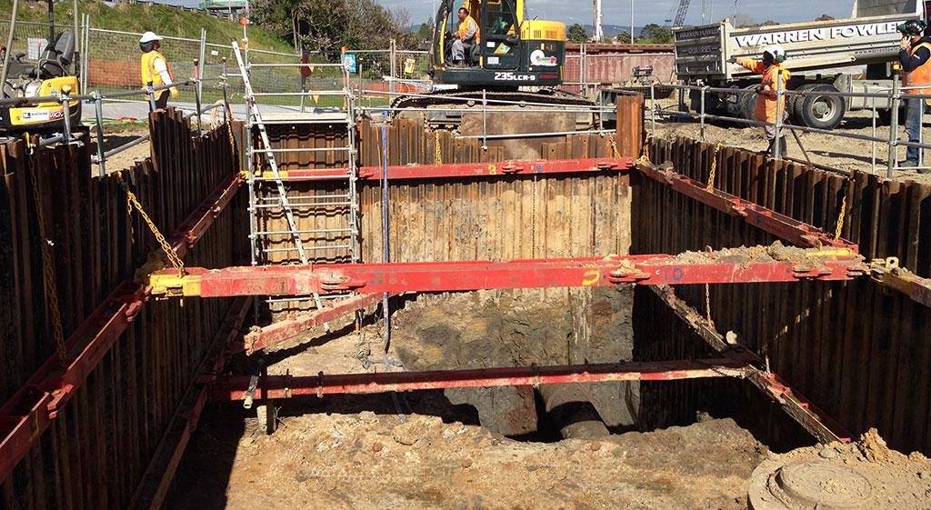Major Project excavation