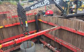 MGF housing excavation project