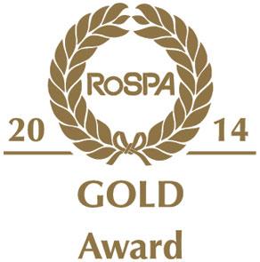 ROSPA-2014 gold logo