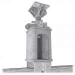 Render of a Heavy Duty Hydraulic Cartridge