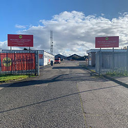 Scotland depot entrance