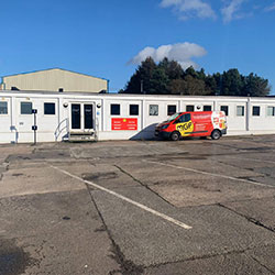 Image of MGF Scotland depot
