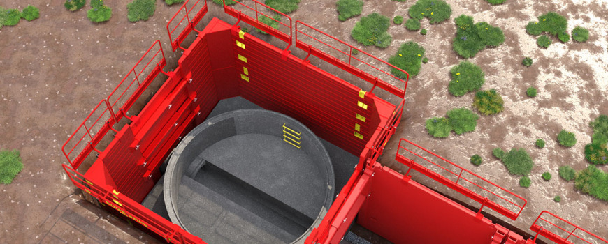 Animation of Manhole-Box