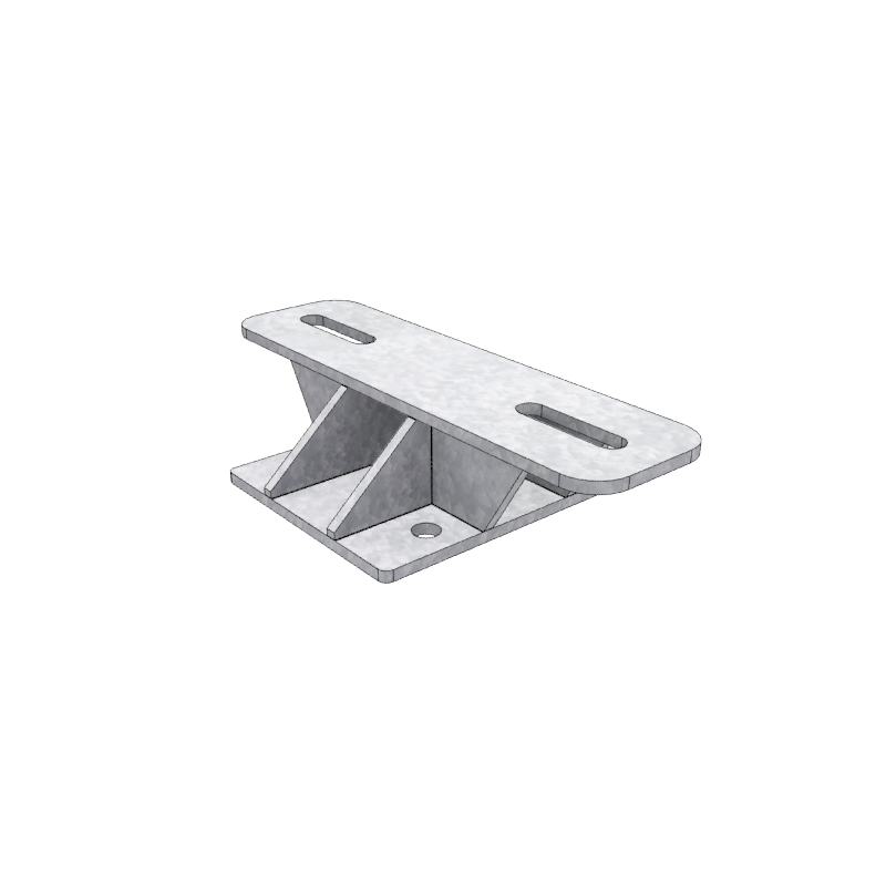 Render of a Light Duty Needle Beam Connector
