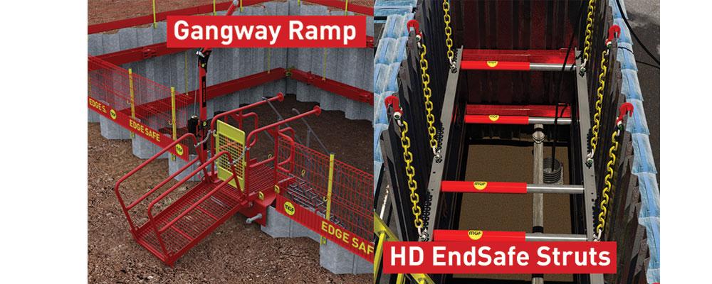 Endsafe Struts and Gangway Ramp animated images