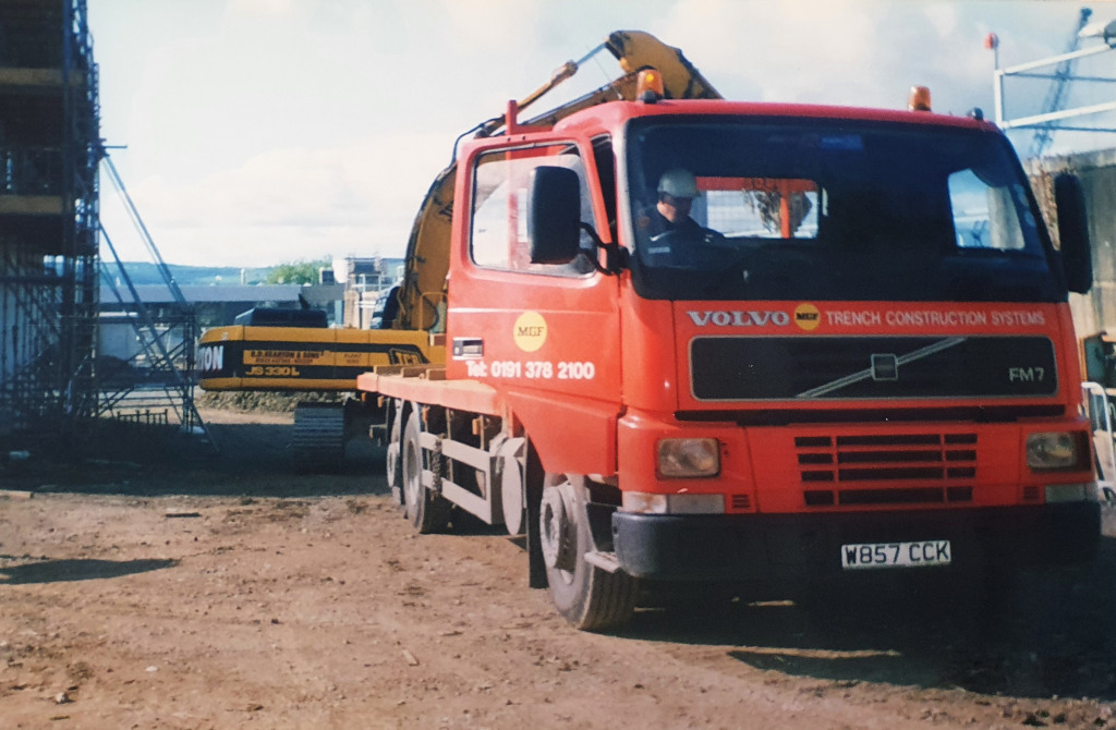 Old photo of MGF wagon