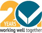WWT 20 years logo