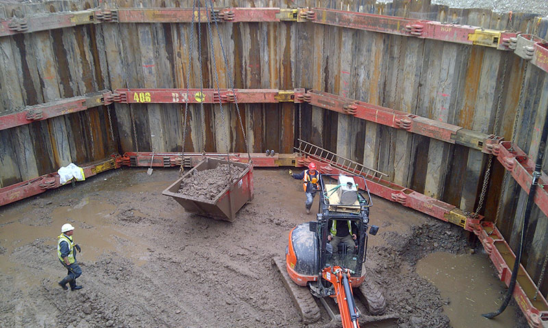 Walton le Dale excavation