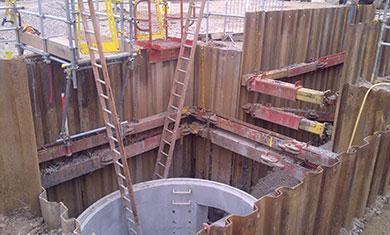 Excavation onsite