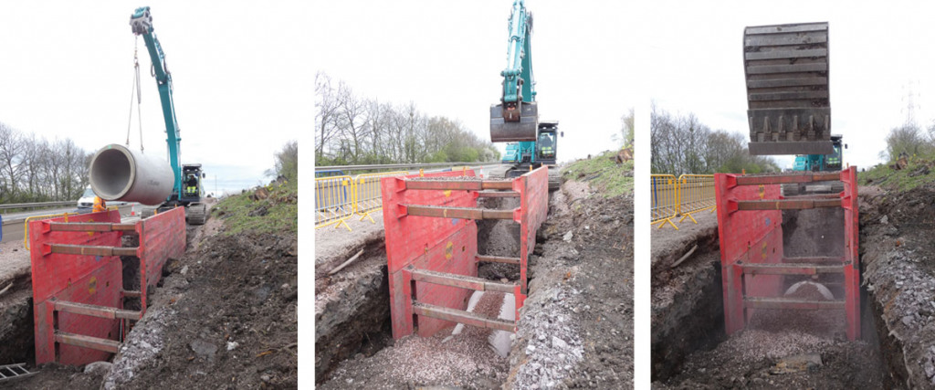 MGF Drag Box in use on site