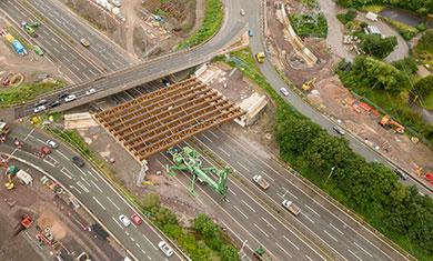 M6 drone image