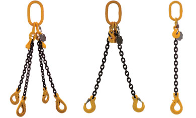 3D image of chains
